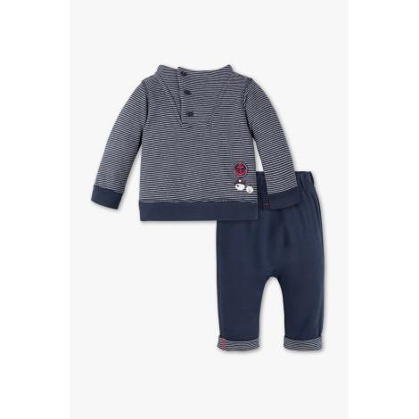 Ensemble & Combinaison pantalon BABY CLUB Bleu, bleu marine, bleu turquoise