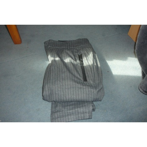 Pantalon large ONE STEP Gris, anthracite