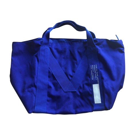 Sac XL en tissu MARC JACOBS Bleu, bleu marine, bleu turquoise