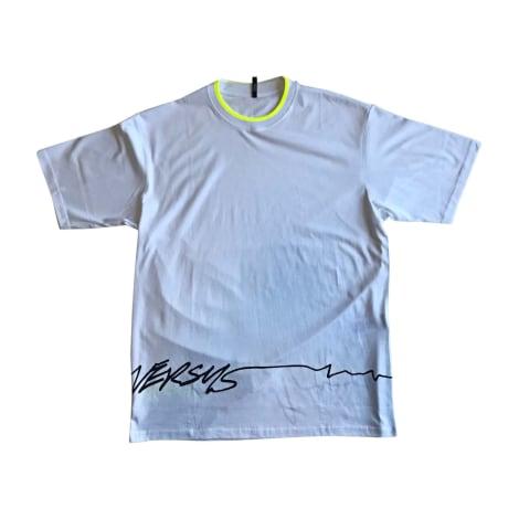 Tee-shirt VERSUS VERSACE Blanc, blanc cassé, écru