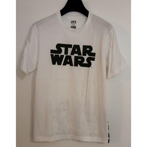Tee-shirt UNIQLO Blanc, blanc cassé, écru