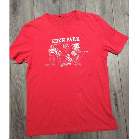 Tee-shirt EDEN PARK Rouge, bordeaux