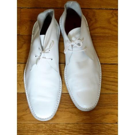 Chaussures à lacets  PIERRE HARDY Blanc, blanc cassé, écru