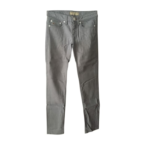 Jeans slim MARC JACOBS Gris, anthracite