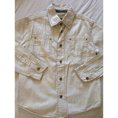 Chemise OKAÏDI Blanc, blanc cassé, écru