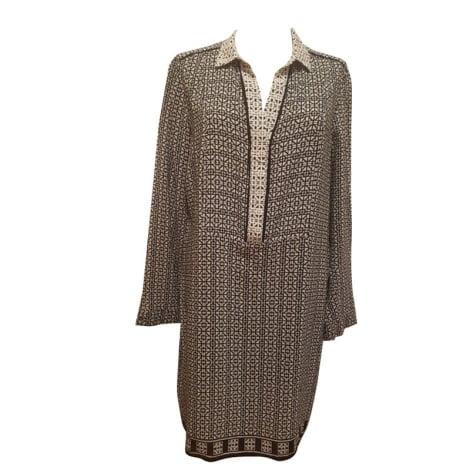 Robe tunique COMPTOIR DES COTONNIERS noir et blanc