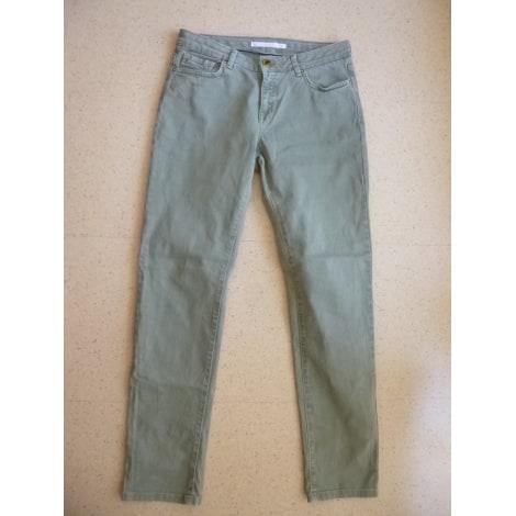 Jeans droit SUD EXPRESS Kaki