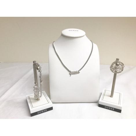 Parure bijoux GUESS Argenté, acier