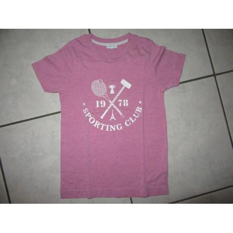 Tee-shirt JACADI Rose, fuschia, vieux rose