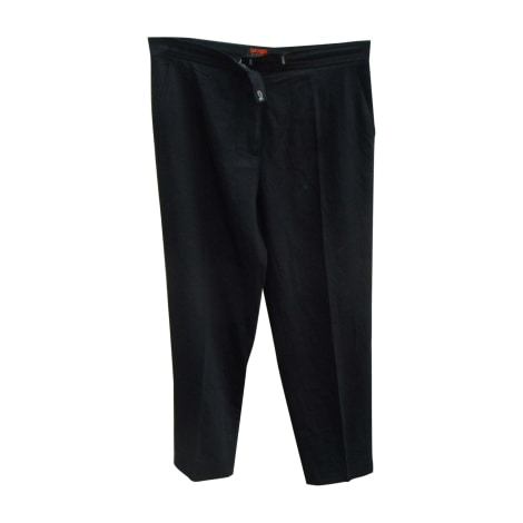Pantalon droit CHRISTIAN LACROIX Noir