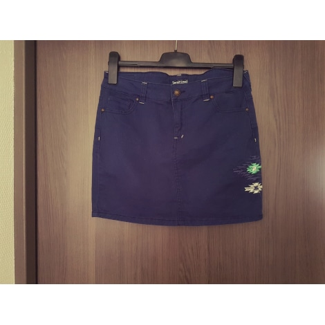 Jupe en jean COMPLICES Bleu, bleu marine, bleu turquoise