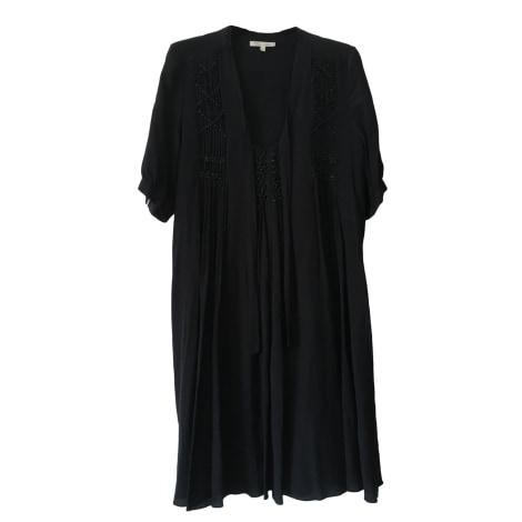 Robe mi-longue LES PETITES... Noir