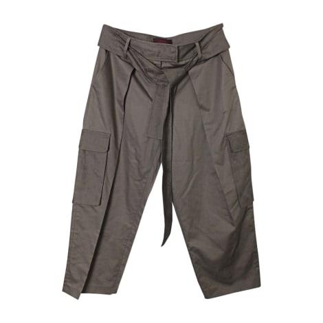 Pantalon droit KENZO Kaki