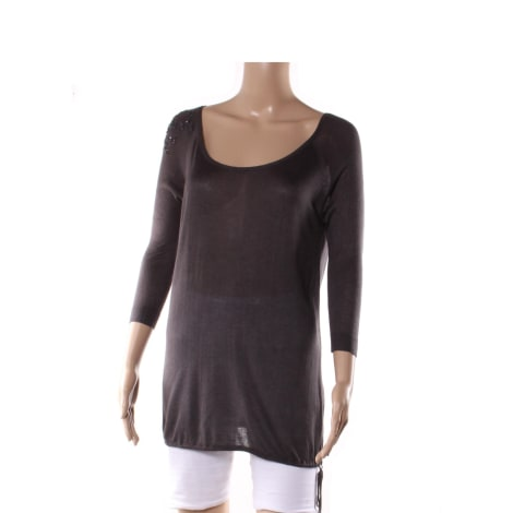 Top, tee-shirt ZAELLA Gris, anthracite