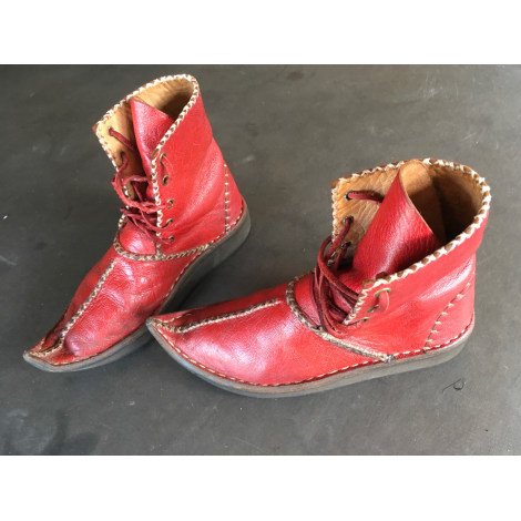 Bottines & low boots plates ART Bordeaux
