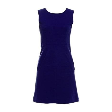Robe courte DIANE VON FURSTENBERG Bleu, bleu marine, bleu turquoise