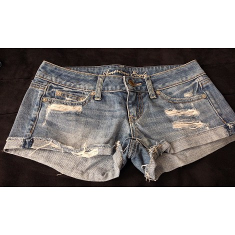 Short en jean AMERICAN EAGLE OUTFITTERS Denim
