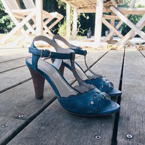 Sandales à talons KOOKAI Bleu, bleu marine, bleu turquoise