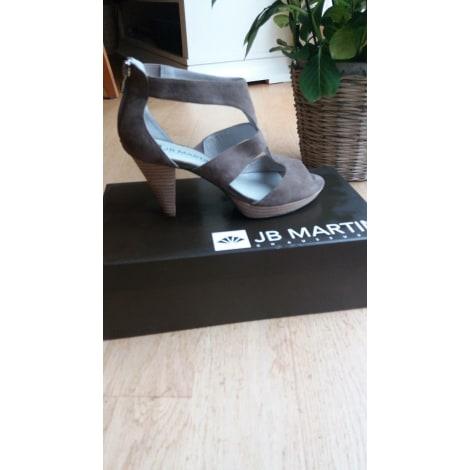 Sandales à talons JB MARTIN Beige, camel