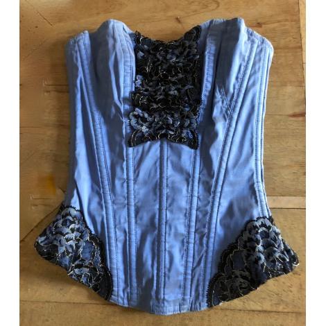 Corset CADOLLE Bleu, bleu marine, bleu turquoise