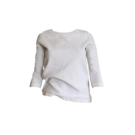 Blouse COS Blanc, blanc cassé, écru