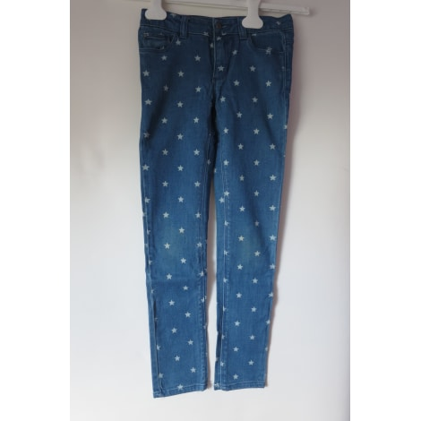 Jeans droit MONOPRIX Bleu, bleu marine, bleu turquoise