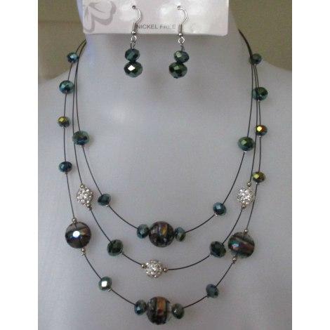 Parure bijoux MUSACRÉATION Multicouleur