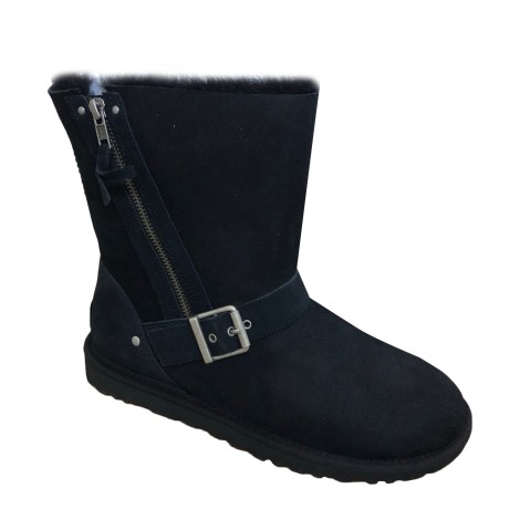 Bottines & low boots plates UGG Noir
