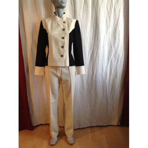 Tailleur pantalon ELECTRE Blanc, blanc cassé, écru