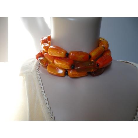 Collier DOMINIQUE DENAIVE Orange