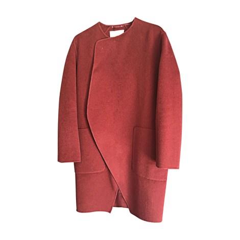 Manteau VANESSA BRUNO Rouge, bordeaux
