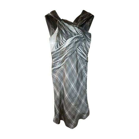 Robe mi-longue HUGO BOSS Gris, anthracite