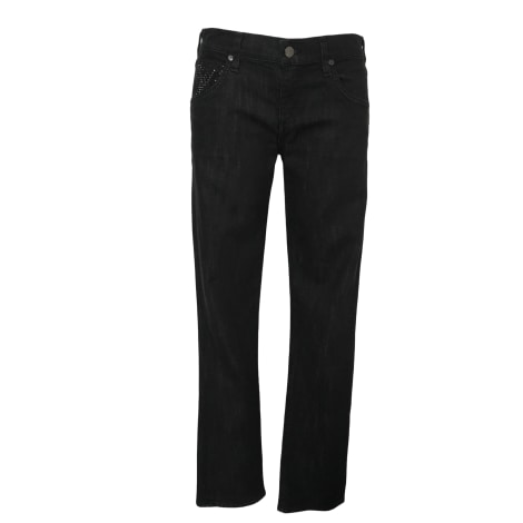 Jeans droit CITIZENS OF HUMANITY Noir