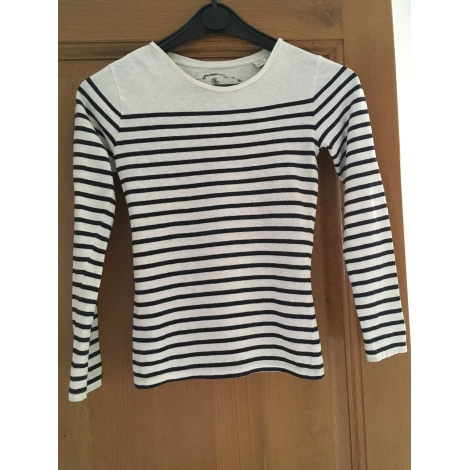 Top, Tee-shirt SCOTCH R'BELLE Blanc, blanc cassé, écru