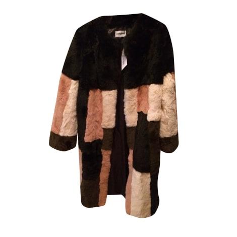 Manteau en fourrure CACHAREL Multicouleur