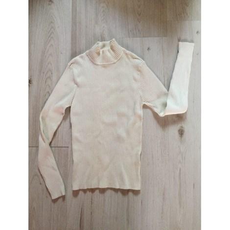 Pull J & W Blanc, blanc cassé, écru