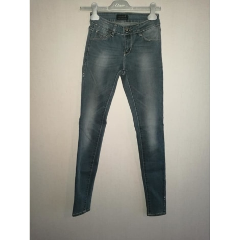 Skinny Pants Cigarette Pants Toxik 3 Jeans 34 Xs T0 Blue 8303396