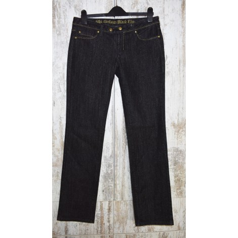 Jeans droit CORLÉONE Noir