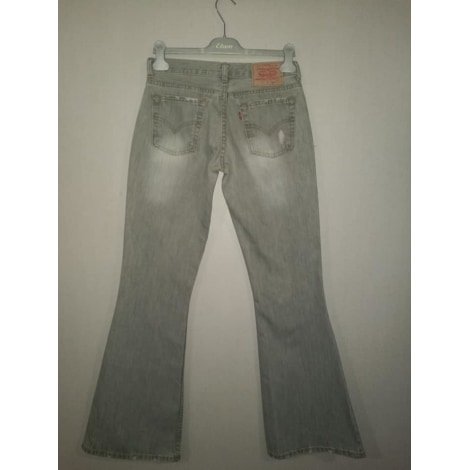 Jeans évasé, boot-cut LEVI'S Gris, anthracite