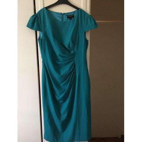 Robe mi-longue FEVER LONDON Bleu, bleu marine, bleu turquoise