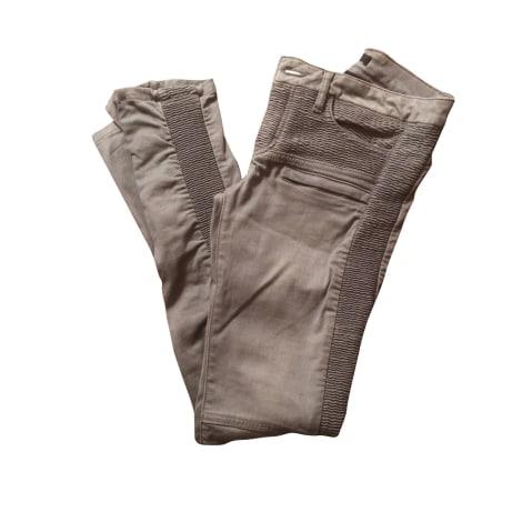 Pantalon slim, cigarette MAJE Gris, anthracite