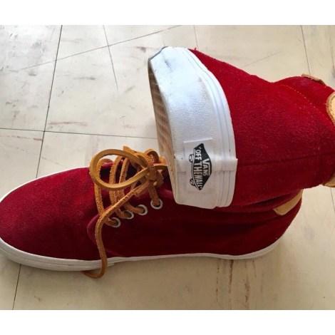 Chaussures à lacets  VANS Bordeau