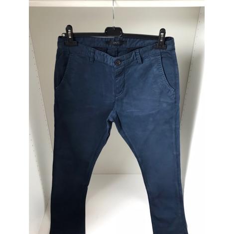 Pantalon slim IKKS Bleu, bleu marine, bleu turquoise