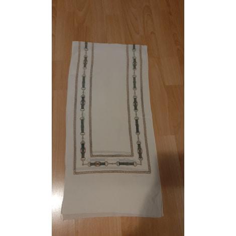 Echarpe CÉLINE Blanc, blanc cassé, écru