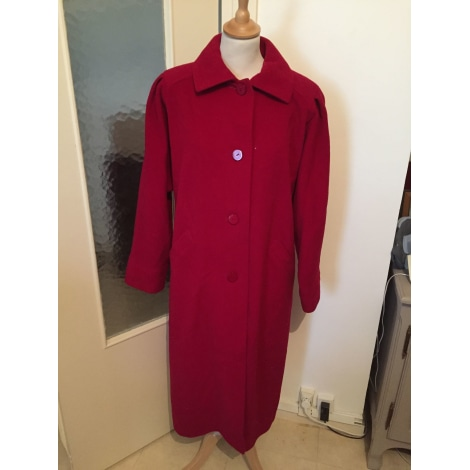 Manteau WEILL Rouge, bordeaux