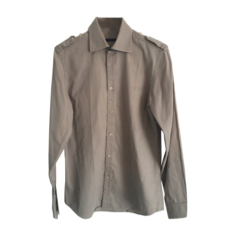 Chemise GUCCI Beige, camel