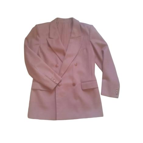 Manteau MAX MARA Rose, fuschia, vieux rose