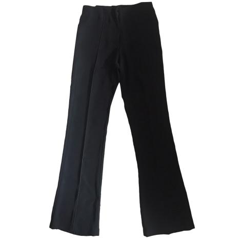 Pantalon droit MARITHÉ ET FRANÇOIS GIRBAUD Noir