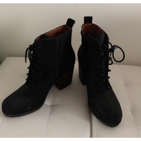 Bottines & low boots à talons LUCKY BRAND Noir