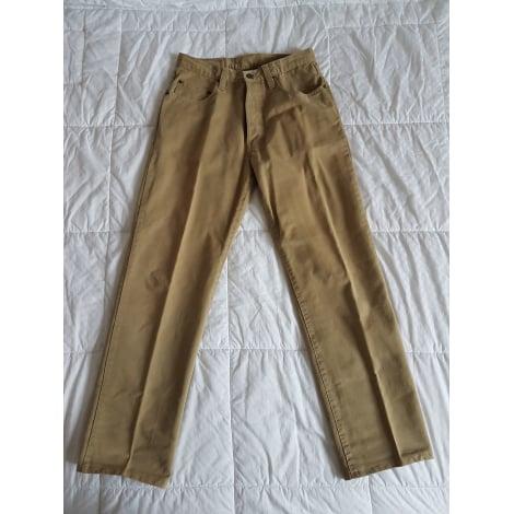 Pantalon droit DEVRED Beige, camel